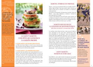 Livret foie gras Saint Martin 2
