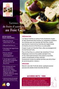 Fiche recette A RECTO - Conseils Cavistes 2013