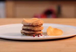 Le feuilleté au carpaccio de Foie Gras - Cifog-Adocom