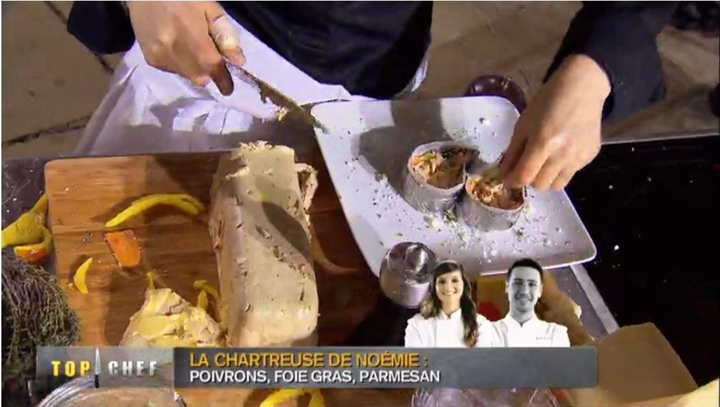 Top Chef : le Foie Gras et la Chartreuse  !