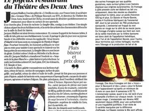 Vu dans Le Figaro Magazine