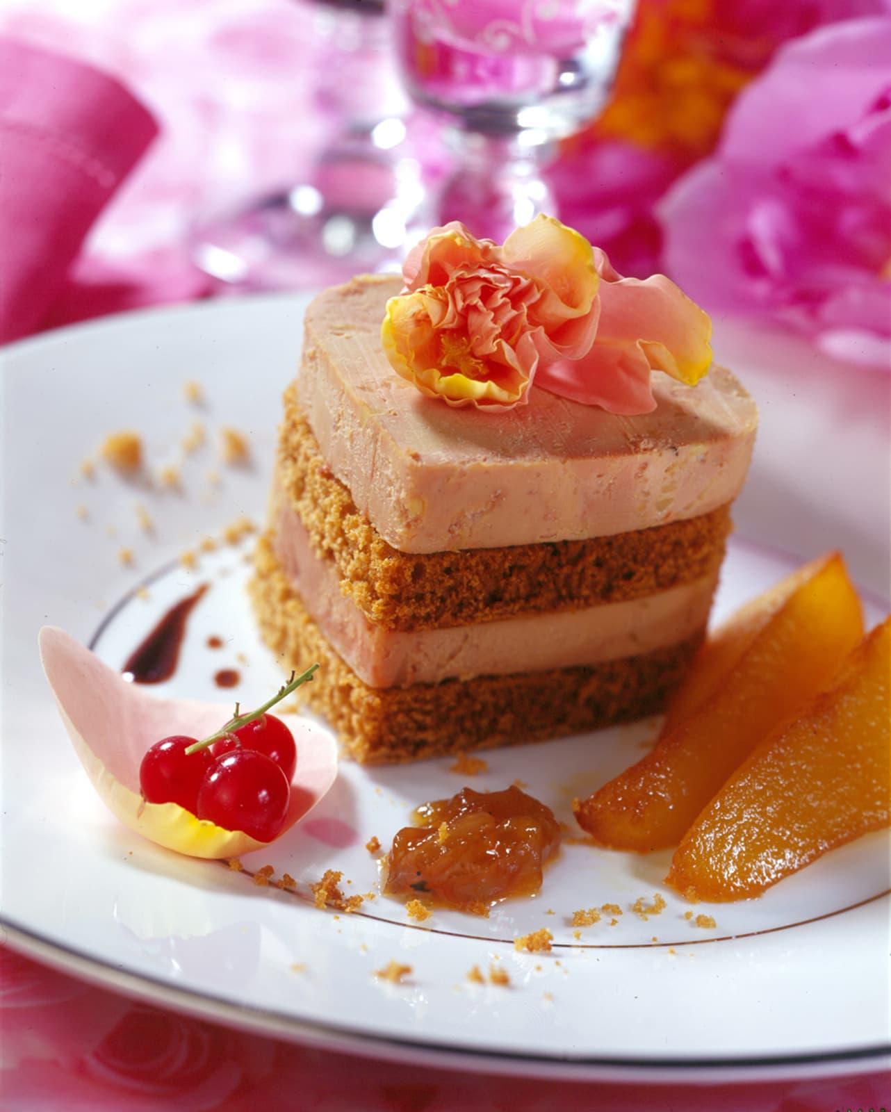 Millefeuille de Foie Gras en pain d'épices - Ph.ASSET / CIFOG / ADOCOM-RP
