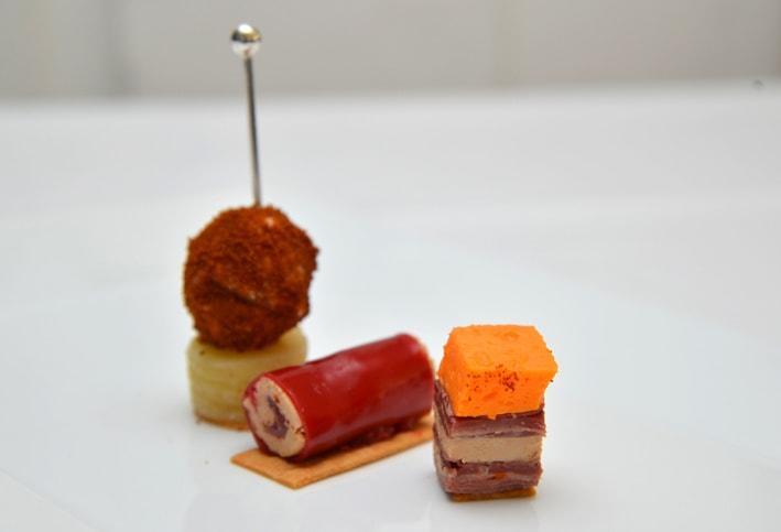 La recette d'Elodie Cantin : « Bonbon, cannelloni et feuille à feuille au Foie Gras »