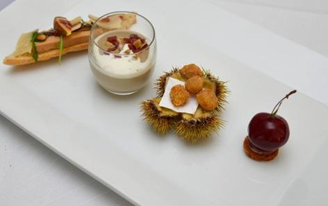 La recette de Samuel Victori : « Le Foie Gras entre les Saisons »
