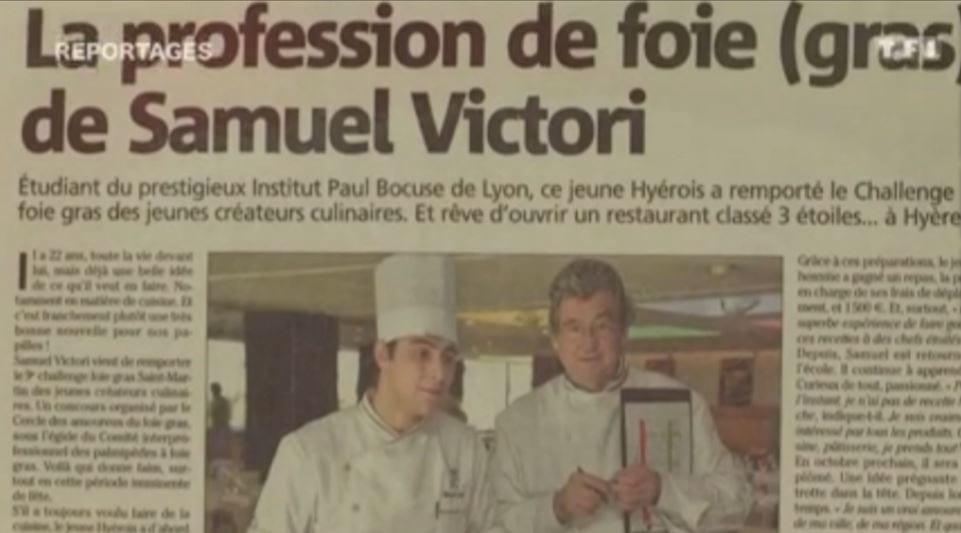 Samuel Victori dans &quot&#x3B;Reportages&quot&#x3B; sur TF1