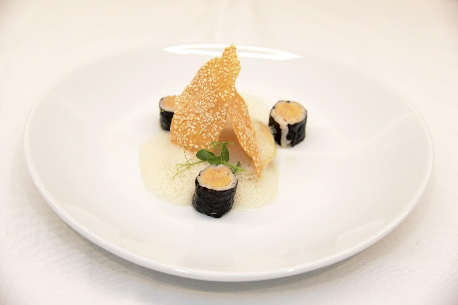 Amandin Colvray, Grand gagnant du Challenge Foie Gras des Jeunes Créateurs Culinaires 2015