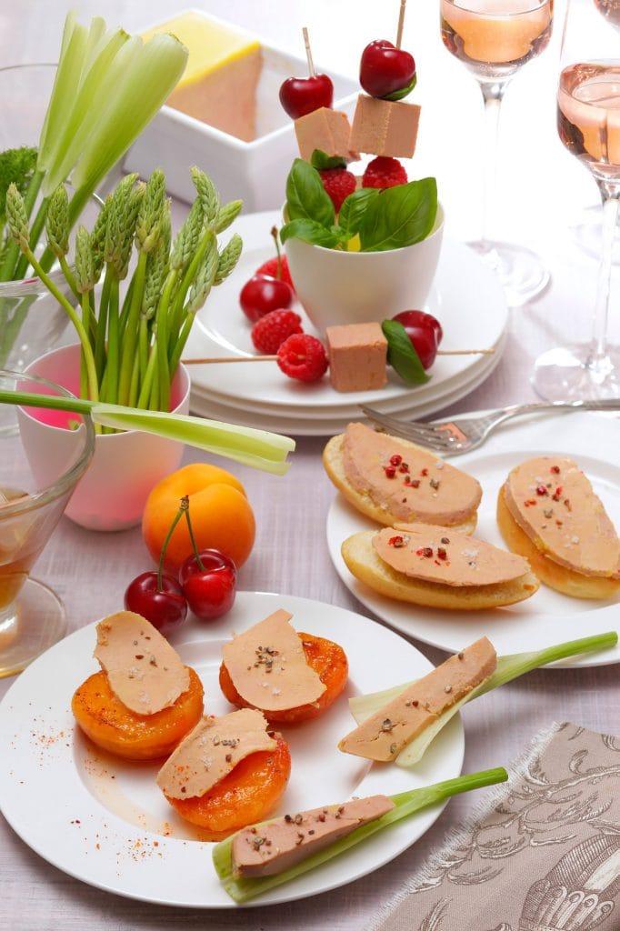 Foie Gras - Repas girly