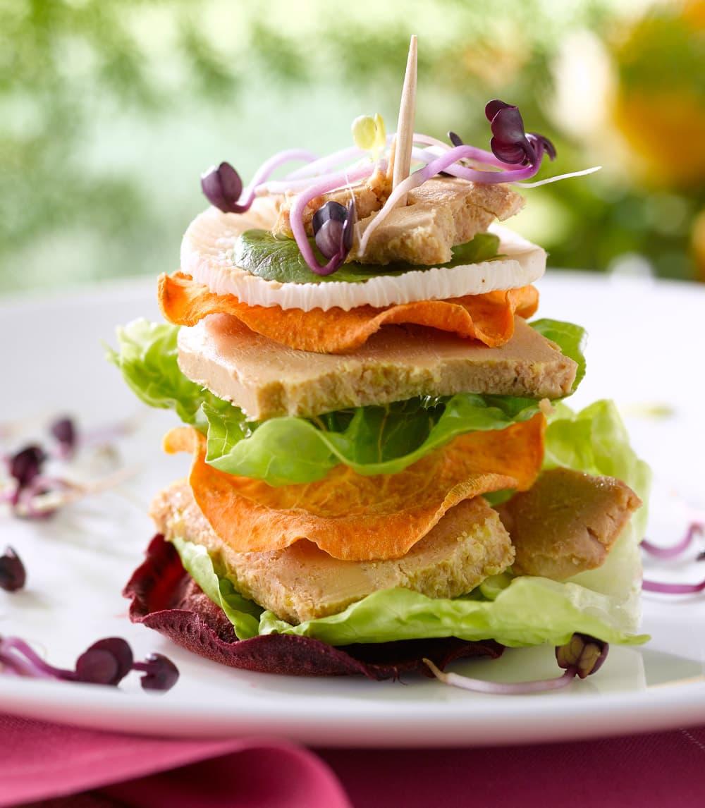 Le Club Sandwich au Foie Gras