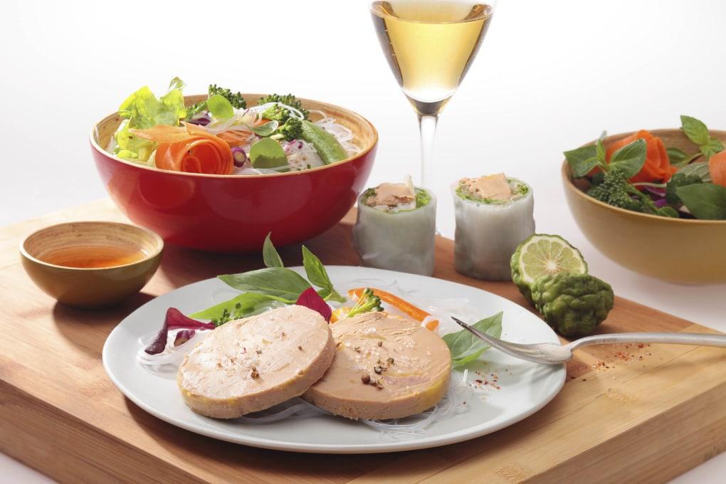 Recette exotique christophine mangue fruits de la passion et foie gras le blog du foie gras - Recette du foie gras ...