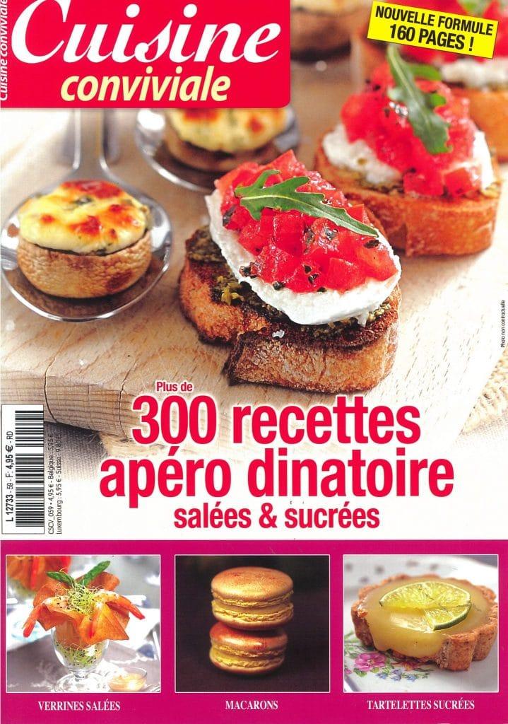 abonnement magazine cuisine conviviale. Black Bedroom Furniture Sets. Home Design Ideas