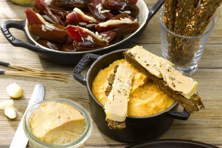 La galette au foie gras et marrons po l s le blog du foie gras - Cuire du foie gras ...