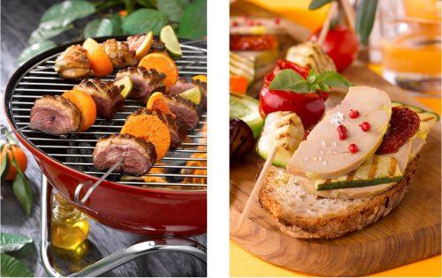 Foie Gras et magret, 2 idées recettes pour ressortir le barbecue et la plancha !