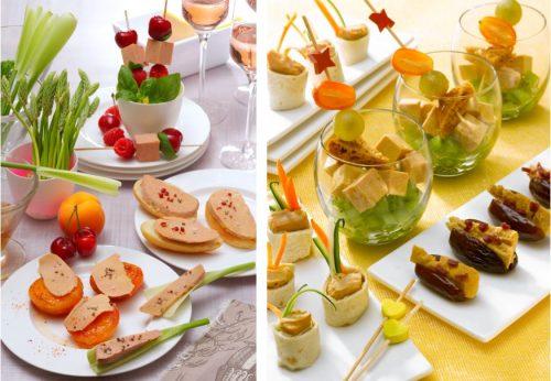 Recettes fête des mères : des petites bouchées délicates au Foie Gras à partager !
