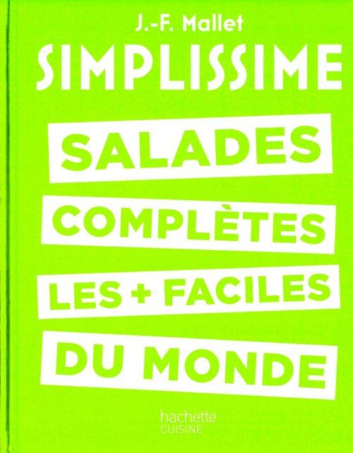 Livre Simplissime : des salades au Confit de canard et Magret