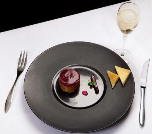 «Foie Gras au Pinot noir, noix et betteraves» par le Chef Emilien Rouable SAP So Ouest à Levallois