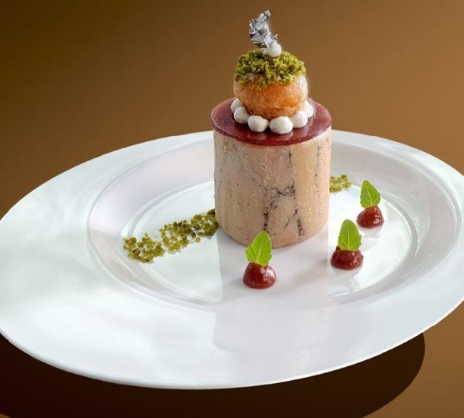 douce foie bloc de foie gras de canard