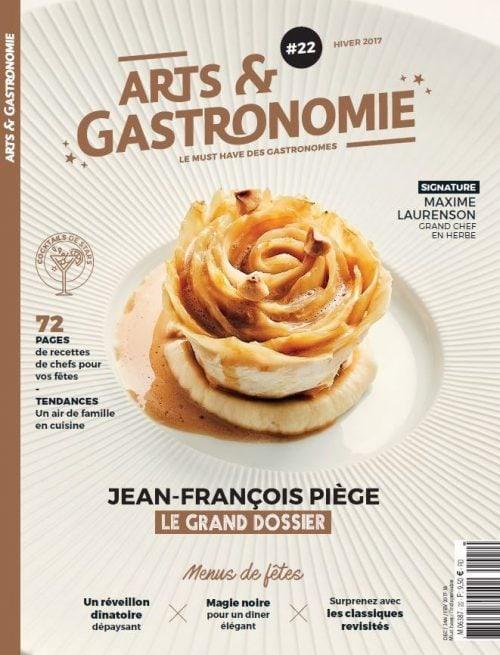 Vu dans le magazine Art et Gastronomie, une recette de Foie Gras haute en couleurs !