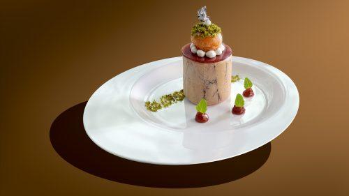 Si on offrait à nos invités une recette de fêtes comme la « Religieuse de Foie Gras et figue » du Chef Michel Roth !