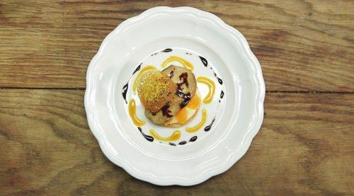 Le Chef Michel Roth nous donne sa recette du « Foie Gras poêlé au vin rouge » !