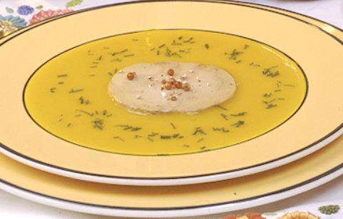 L'idée recette pour affronter le froid : la soupe au potimarron et au Foie Gras