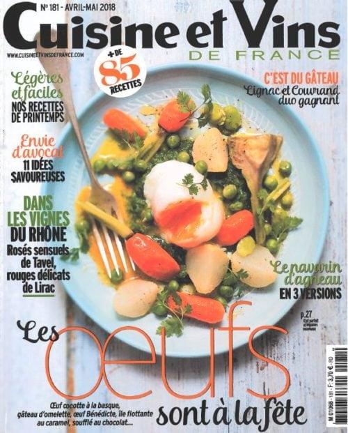 Michel Sarran dans Cuisine & Vins de France