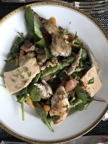 Recette du Jour : la salade composée Foie Gras et Cailles !