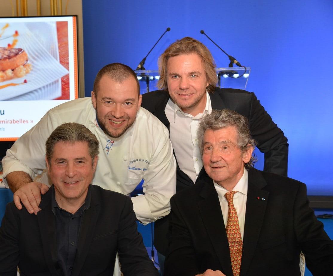 Guillaume Gomez, Michel Roth, Guy Legay et Nicolas Sale / CIFOG / ADOCOM-RP