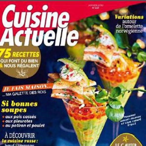 """Bluffé(e)s nous sommes à la lecture de """"Cuisine Actuelle"""" (janvier 19)"""
