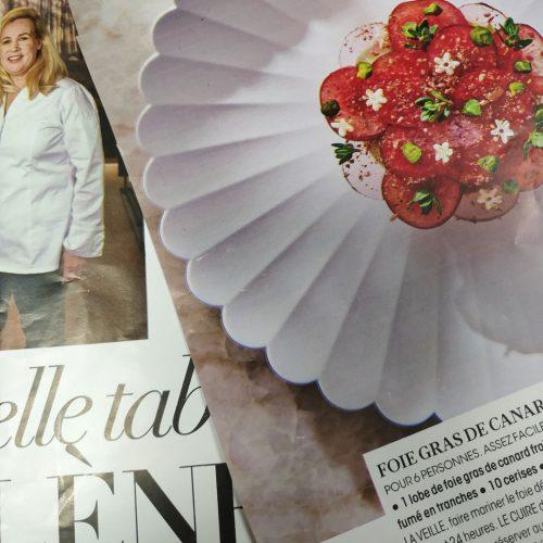 Une grande dame à l'honneur… dans le Figaro Madame : Hélène Darroze