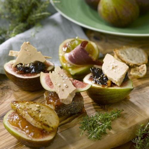 Vu dans Le Figaro la recette de Foie Gras de Sébastien Sanjou