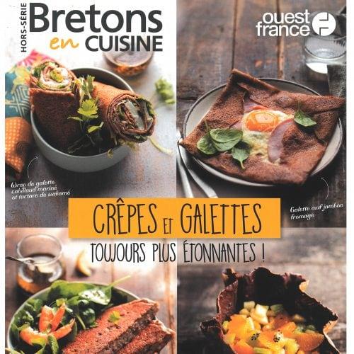 """Des crêpes et des galettes """"à la Une"""" des """"Bretons en cuisine"""""""