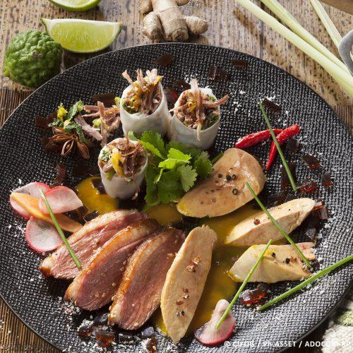 Foie Gras, Magret, Confit, une recette exotique pour rêver d'évasion !
