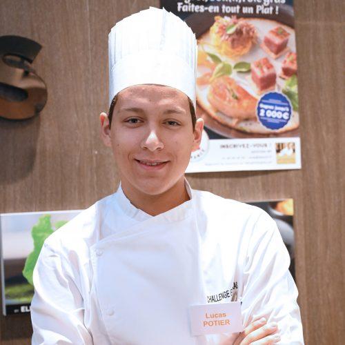 Lucas Potier remporte le 3e prix du Challenge Foie Gras 2020 des Jeunes Créateurs Culinaires